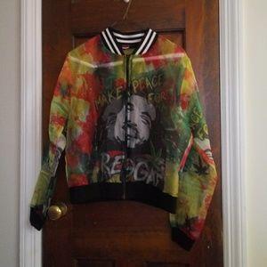 Bob Marley sheer jacket